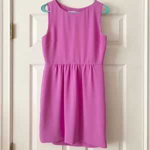 J. Crew pink/purple short dress size 4